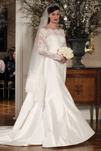 Sleeved Wedding Dress Inspiration Legends by Romona Keveza
