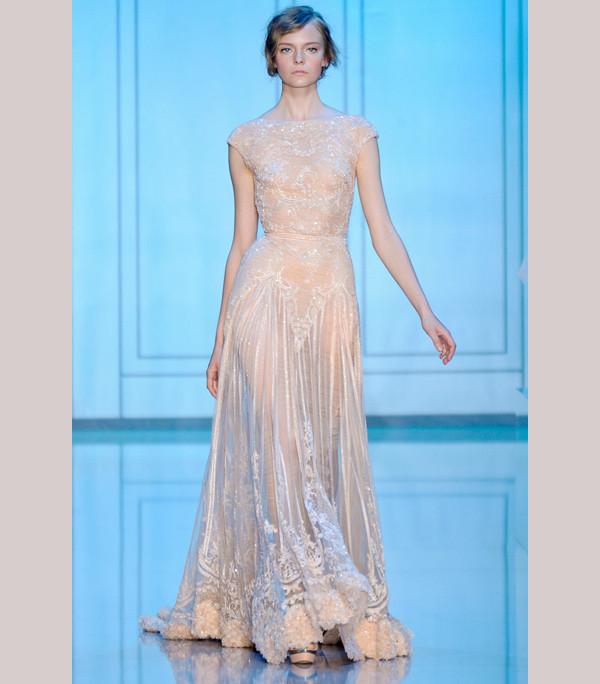 Grecianinspired Elie Saab wedding dress Gorgeous Elie Saab gowns