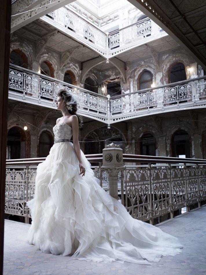 2011 Lazaro wedding dress