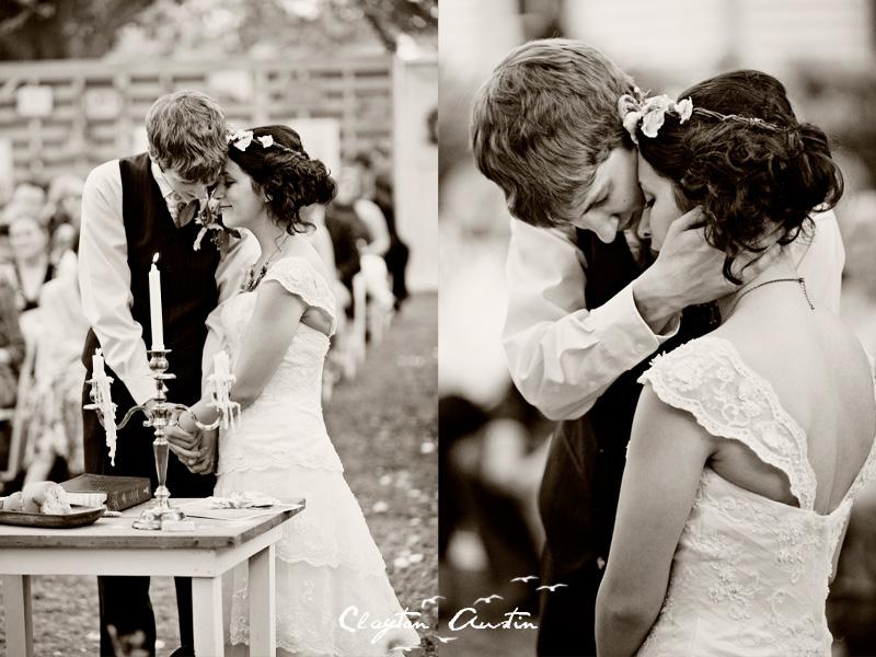 Credit Bohemian bridal style