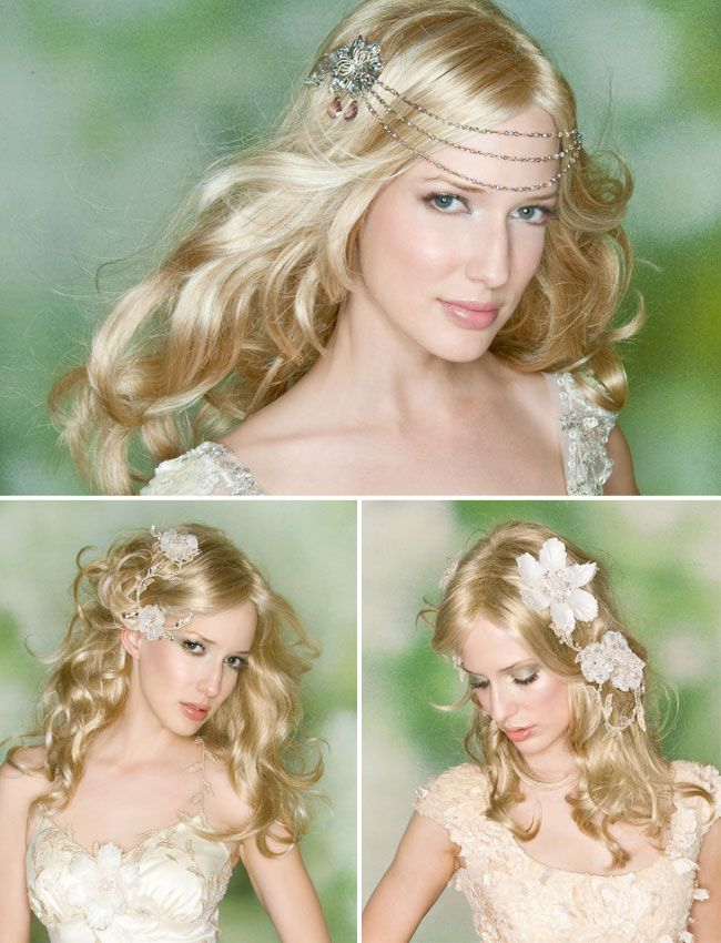 Dare to be Fancy on Your Wedding with a Bohemian Wedding Hairstyle