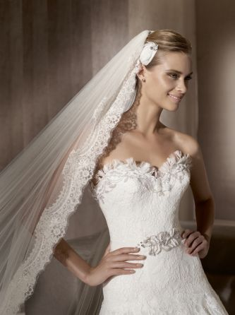 The fabulous folks at Pronovias sent me discs with images of the new 2012