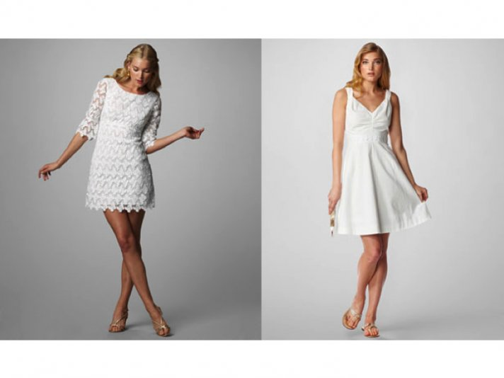 Casual bridal gowns and LWDs by Lilly Pulitzer