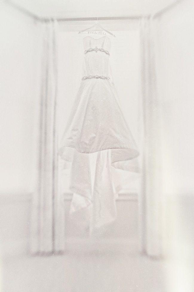 Mermaid wedding dress with Swarovski crystal beading