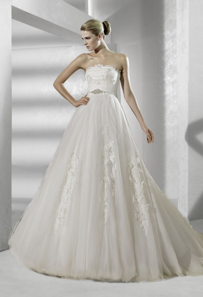 2012 wedding dresses by la sposa choose your style onewed for La sposa wedding dress