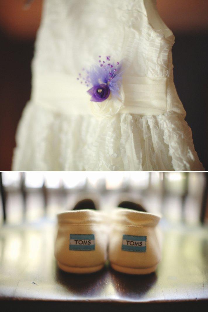 Ivory lace wedding dress with embellished bridal belt