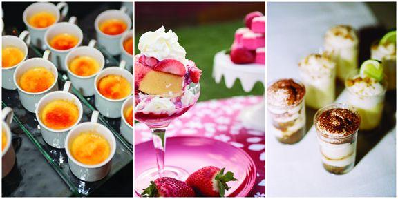 Plated dessert options