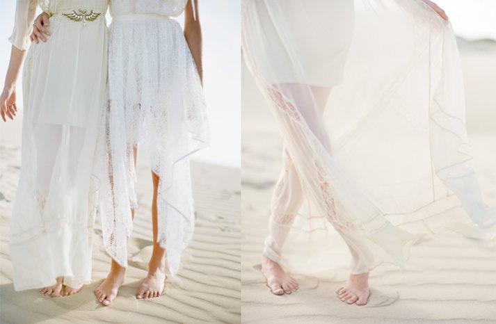 Beach-bridal-style-boho-wedding-dresses