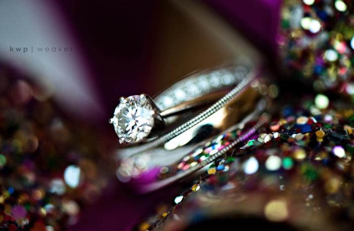 Diamond-engagement-ring-wedding-bands