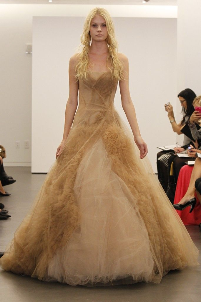 Vera Wang wedding dresses, Fall 2012- 2