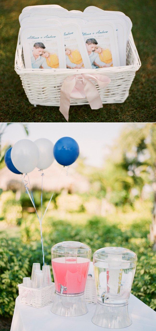 Personalized wedding ceremony programs