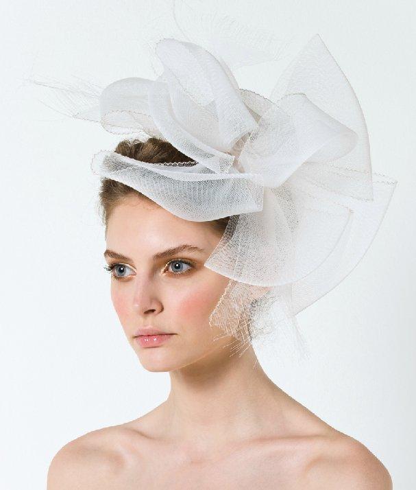 Royal wedding inspired bridal fascinator