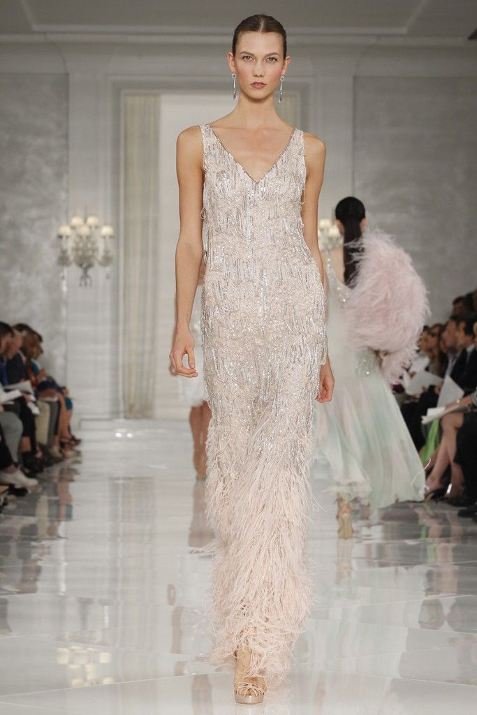 vintage wedding style from ralph lauren spring 2012 rtw