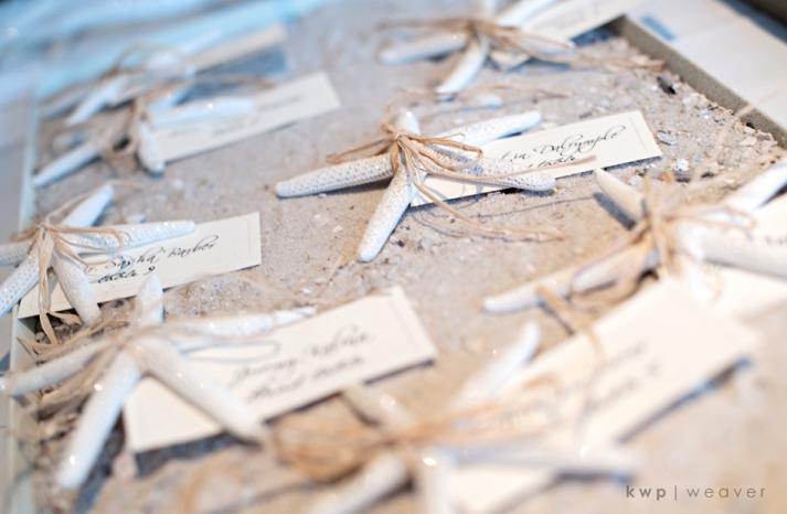 beach-wedding-style-reception-escort-cards-wedding-guest-favors