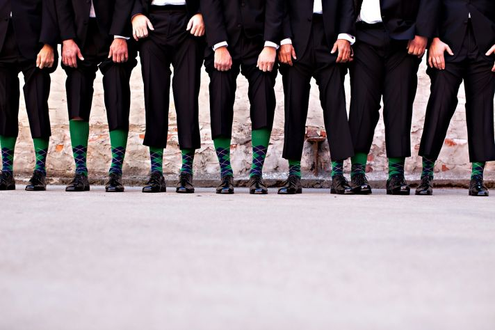 Formal groom's attire at Ohio wedding