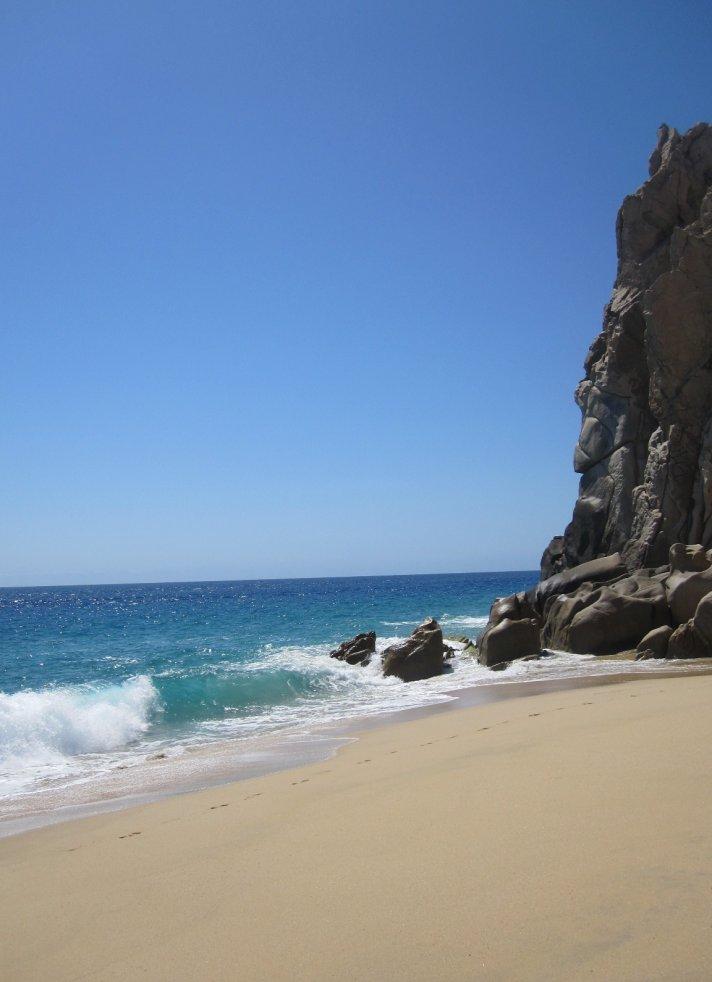 Lover's Beach for a destination wedding ceremony in Cabo San Lucas