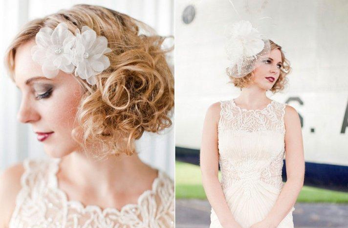 ROmantic wedding hair accessories