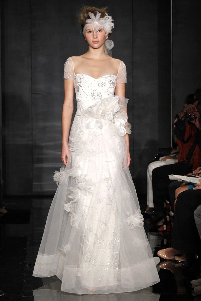 Wedding Dresses Sheer Sleeves 34