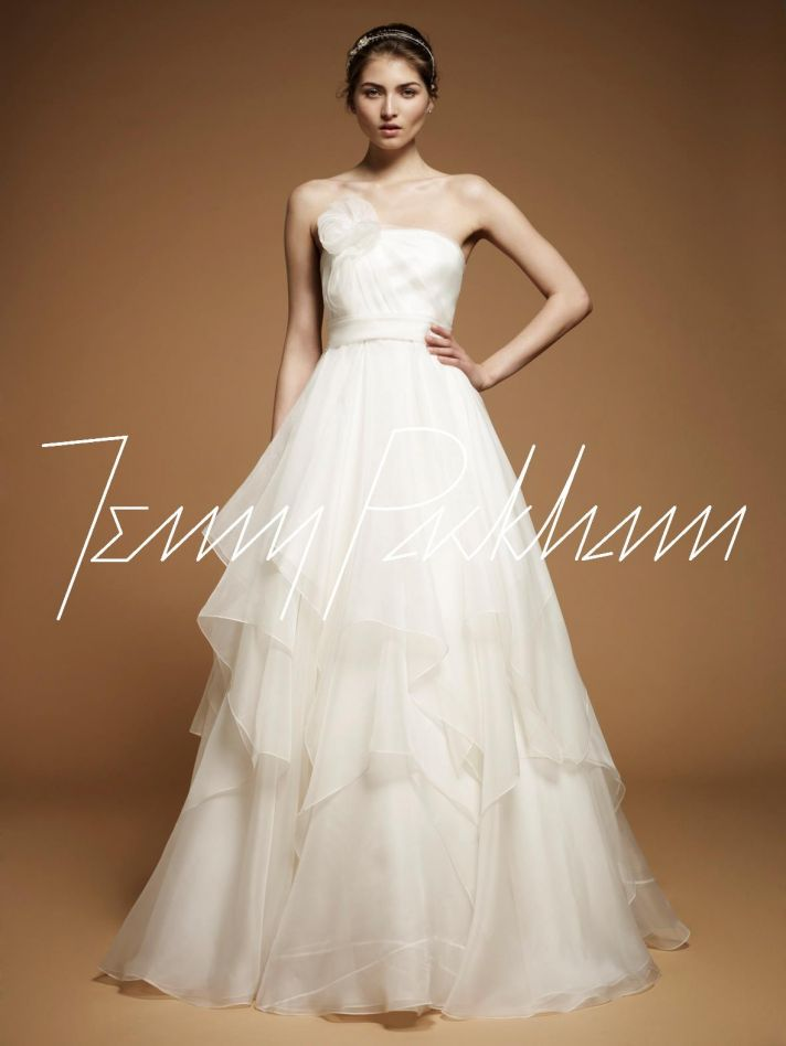 Jenny Packham wedding dress, 2012 bridal gowns 8