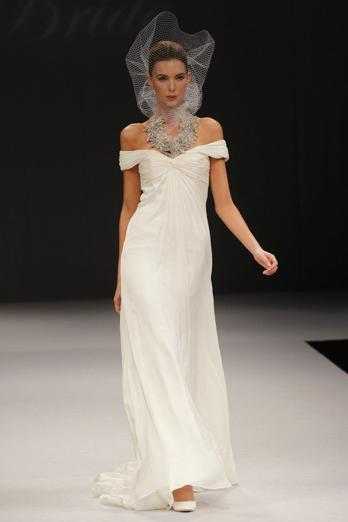 spring 2012 wedding dresses by badgley mischka onewed With badgley mischka wedding dress