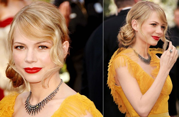 Michelle-williams-wedding-hairstyle-is