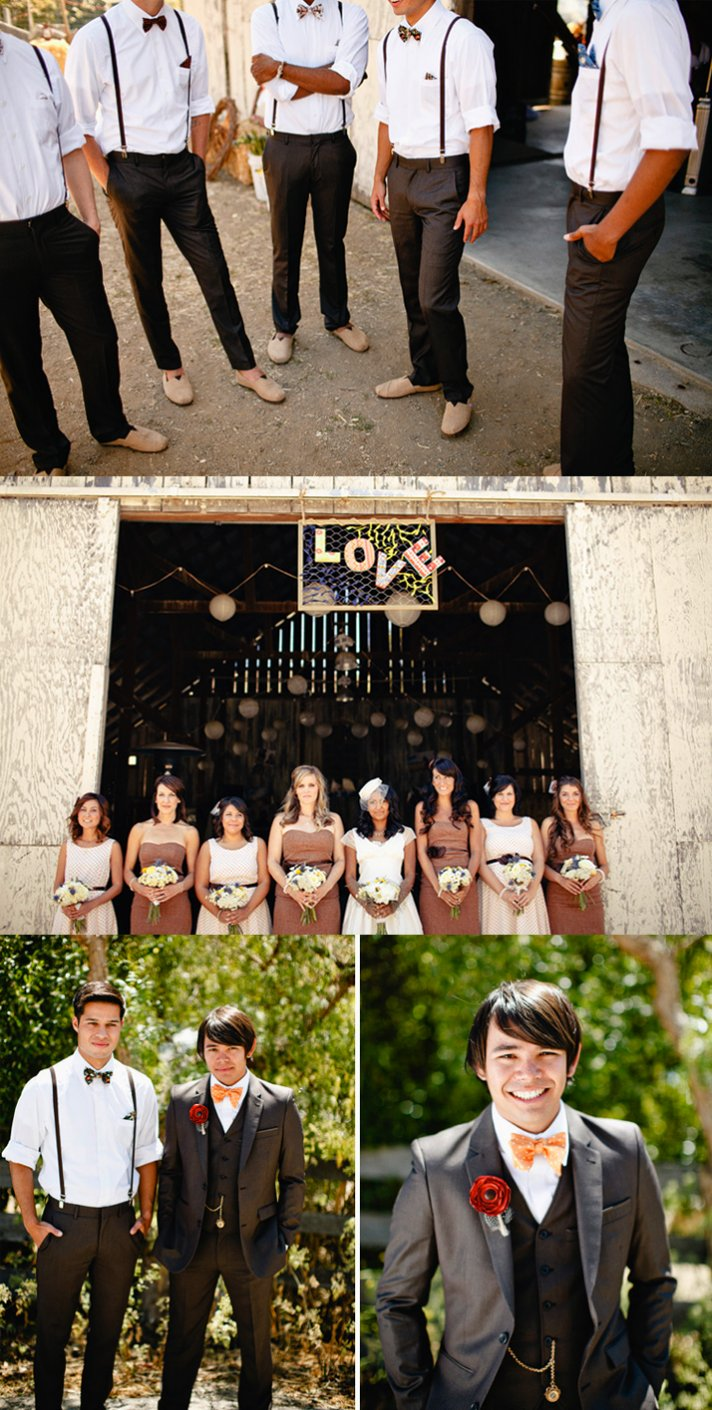 Real California weddings- vintage bride, barn wedding venue by Matthew Morgan Photography- 5