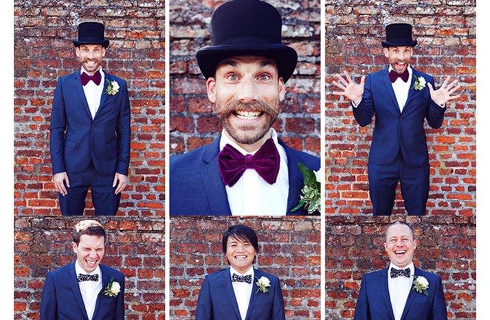 Grooms-wearing-bow-ties-2