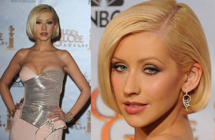 Christina-aguilara-wedding-hair