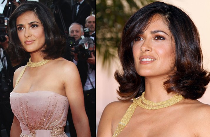 Salma-hayek-short-wedding-hair