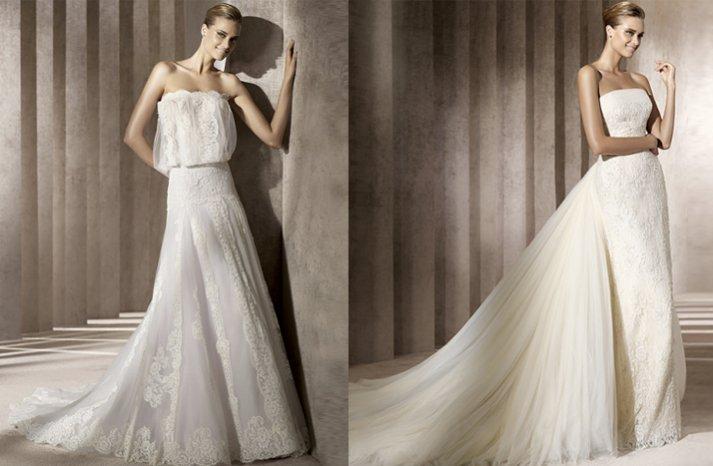 2012 wedding dresses lace manuel mota