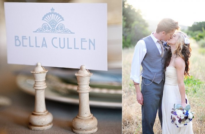 breaking dawn inspired wedding decor bridal gown