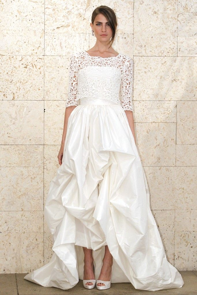 5 wedding dresses we love from oscar de la renta spring for Where to buy oscar de la renta wedding dress