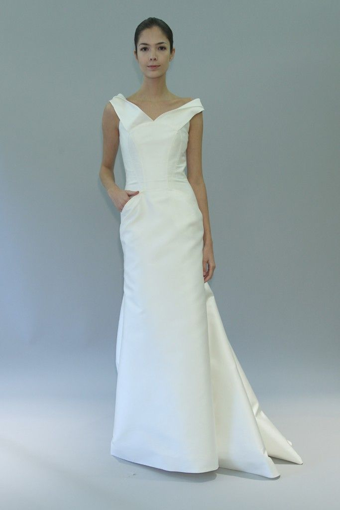 carolina herrera wedding dress fall 2012 bridal gowns 5
