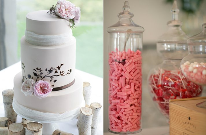au wedding photograph wedding cake dessert bar