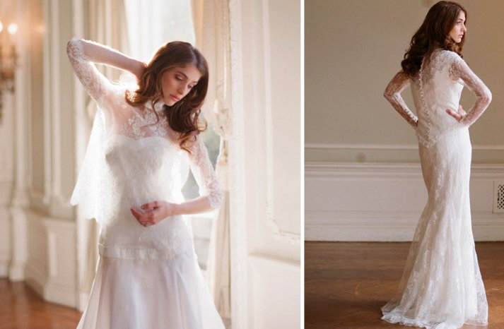delphine manifet 2012 wedding dresses boho bridal gown kiss the groom lace 32