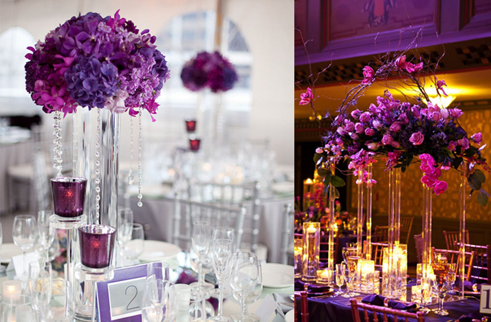 Great Purple and Silver Wedding Centerpieces 714 x 468 · 557 kB · png