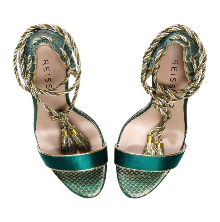 reiss wedding shoes teal