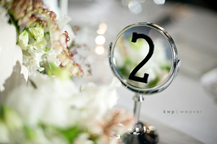 vintage wedding photography orlando photographers table numbers retro