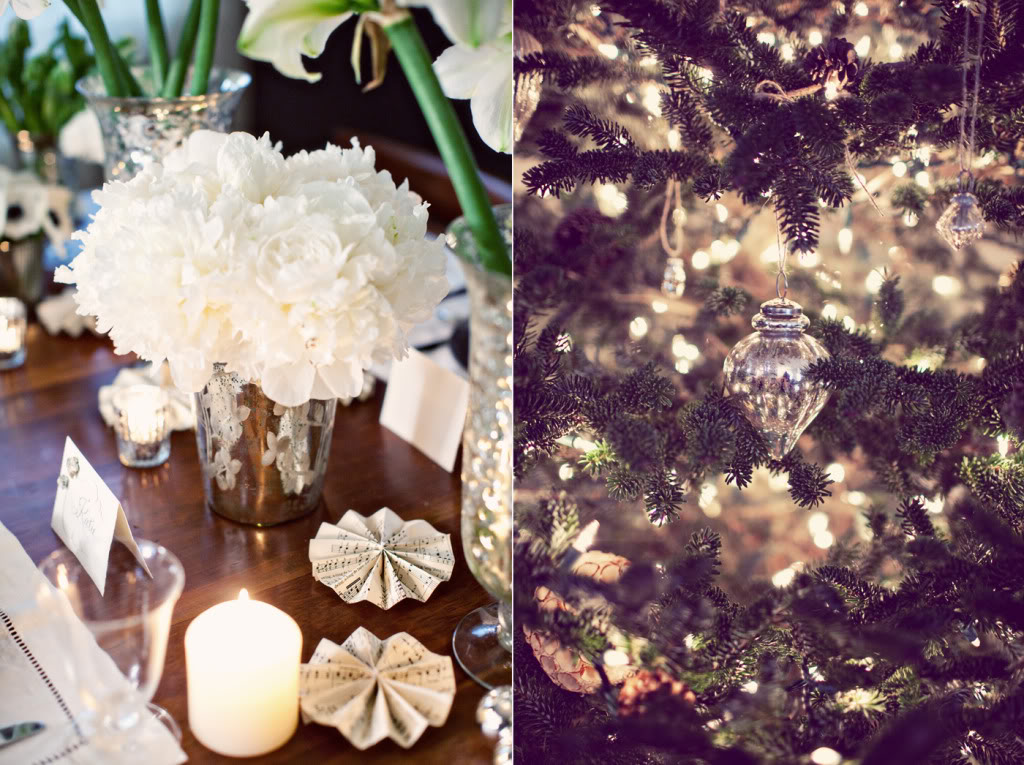 white winter wedding flowers centerpieces Credit none