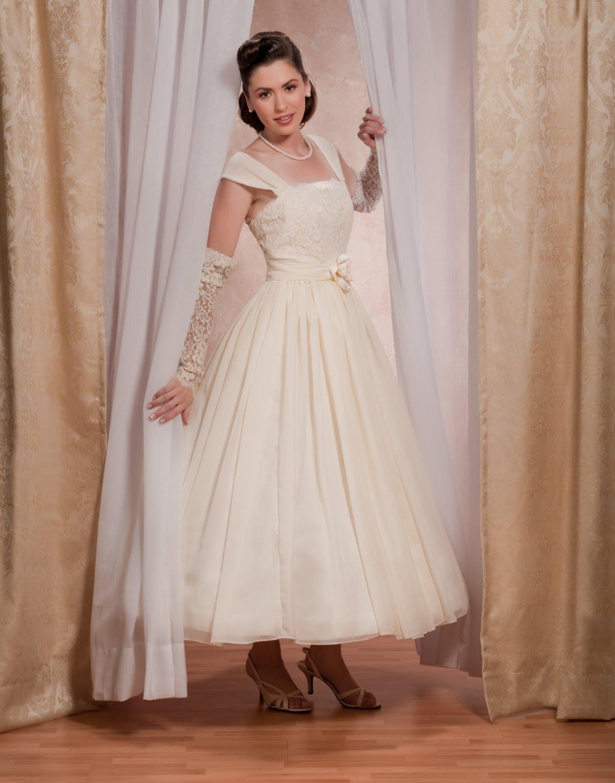 1950s Wedding Dresses Custom Wedding Dress