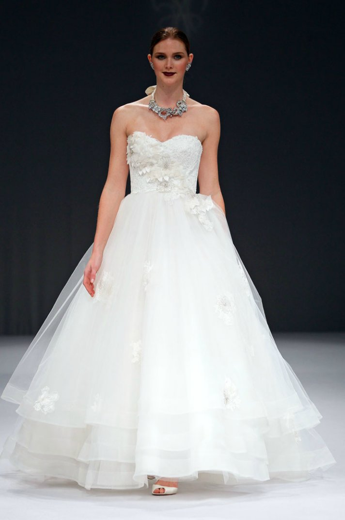 2012 wedding dresses ballgown bridal gown anne barge