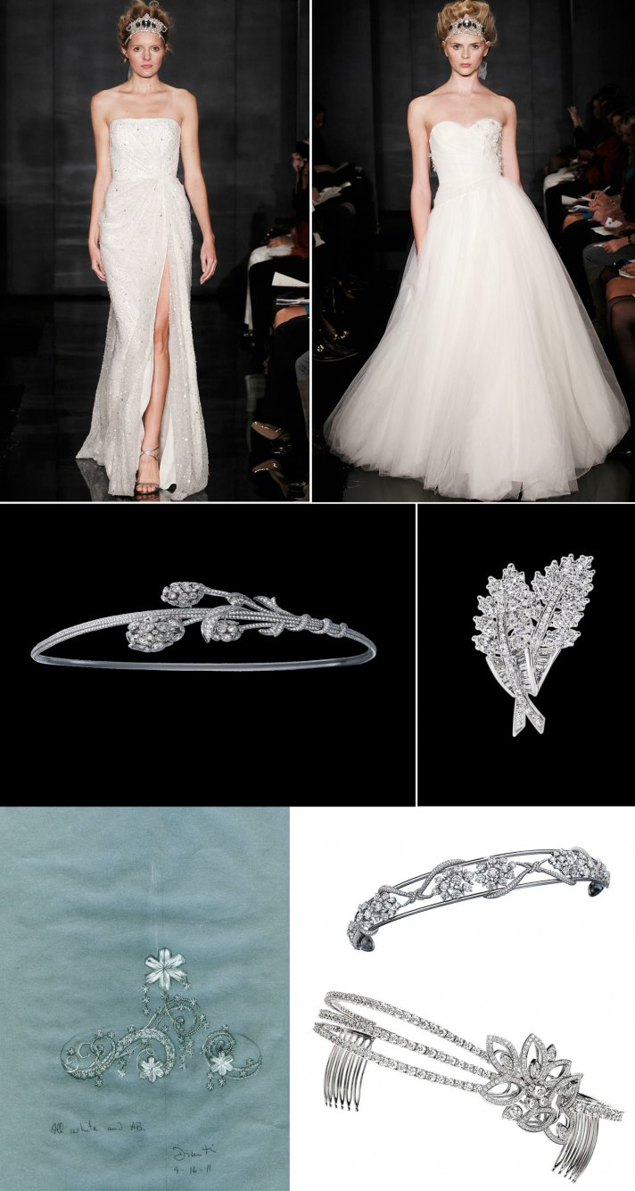 bridal tiaras 2012 wedding trend bridal accessories hairpieces