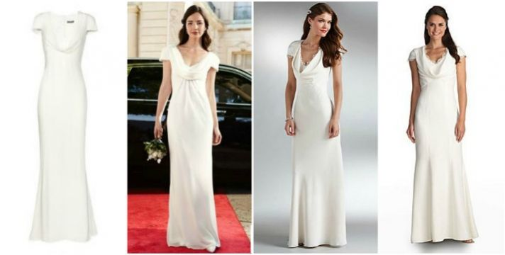 Splurge vs save the pippa middleton dress onewed for Wedding dress like pippa middleton