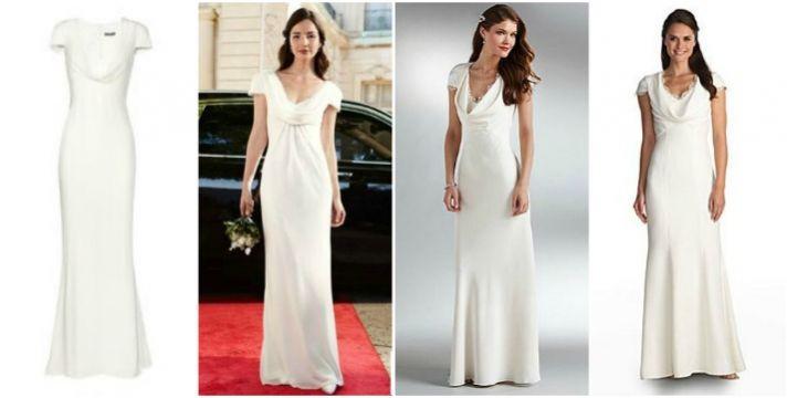 Splurge vs save the pippa middleton dress for Knock off kate middleton wedding dress