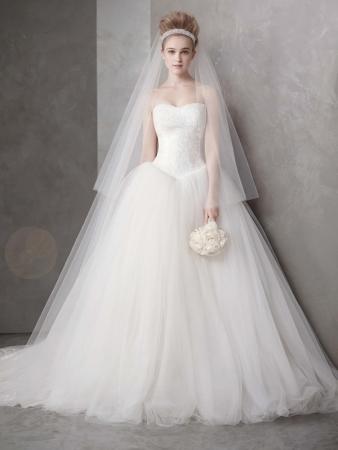 White by Vera Wang Designer Wedding Dresses OneWed