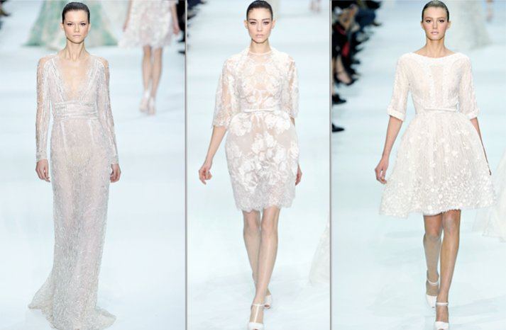 elie saab 2012 couture wedding dress ideas bridal gown trends 3