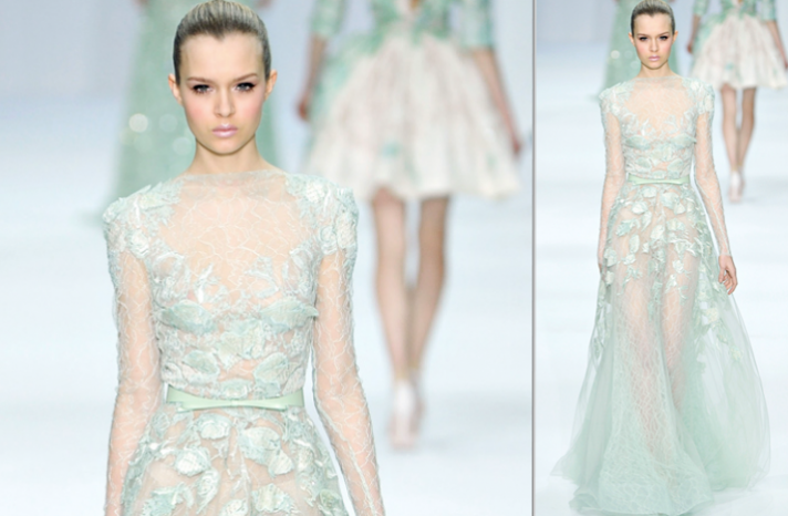 2012 wedding dress trends touches of sheer elie saab