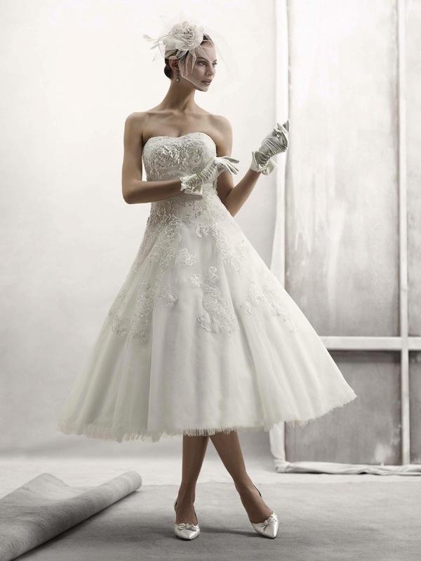 Классические свадебные платья от Oleg Cassini.  Коллекция New Spring 2011.