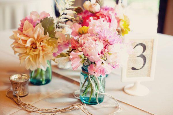 Wedding flower style multiples