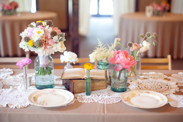 simple wedding reception centerpieces mason jars simple wedding receptions